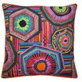 Jiti 'Native' Black 20-inch Pillow