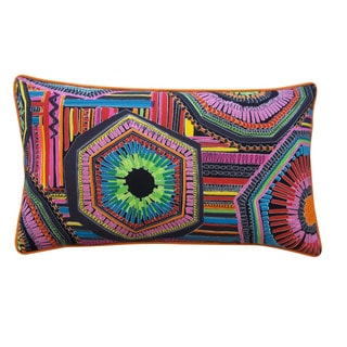 Jiti 'Native' Multicolored 12-inch x 20-inch Pillow