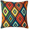 Jiti Pillows 'California' Multicolored 20-inch Pillow