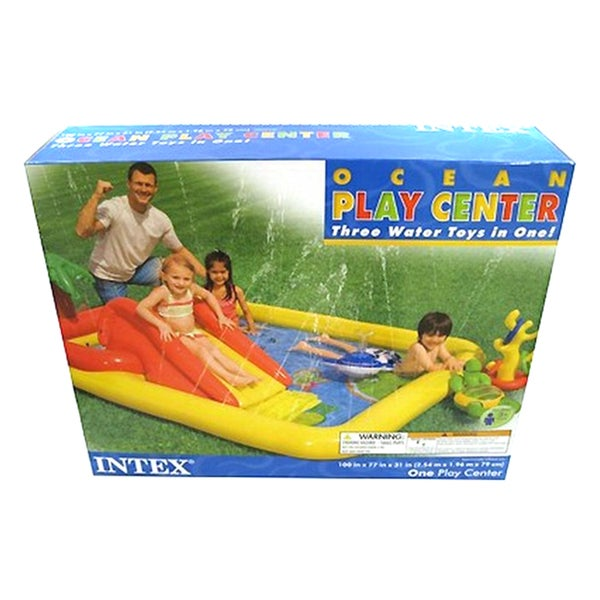 Intex Inflatable Ocean Play Center
