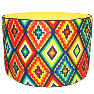 Jiti 'Labyrinth' Multicolored 24-inch x 15-inch Pillow