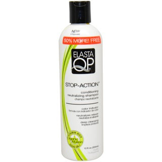 Elasta QP Stop-Action Conditioning Neutralizing 12-ounce Shampoo