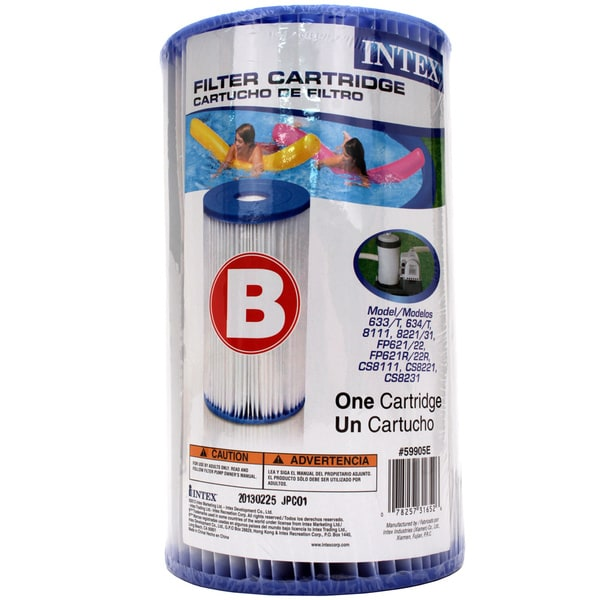 Intex Pool Filter Cartridge (Size B)