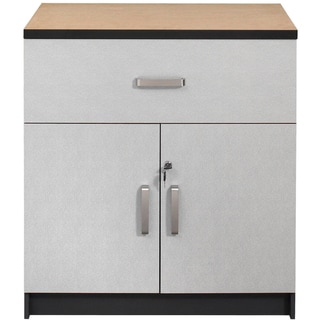 Talon Garage 1-Drawer 2-Door Charcoal Stipple Base Cabinet