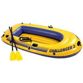 INTEX Challenger 2 Person Boat Kit