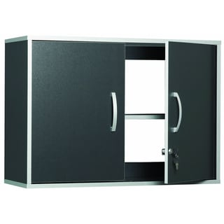 Talon Garage 2-Door Charcoal Stipple Wall Cabinet