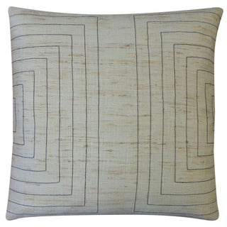 Jiti 'Streams' Natural 20-inch Pillow