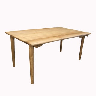 Modern Solid Ash Wood Dining Table