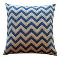 Jiti 'Alberta' Blue 20-inch Pillow