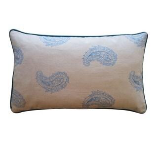 Jiti 'Angela' Blue 12 x 20-inch Down Pillow