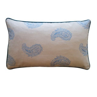Jiti Pillows 'Angela' Blue 12 x 20-inch Down Pillow