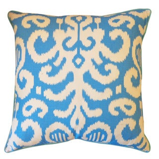 Jiti 'Lauri' Blue 26-inches Pillow