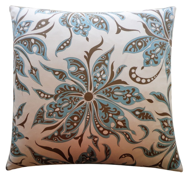 Jiti 'Flucci' Aqua 26-inch Pillow