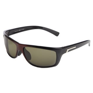 Serengeti 'Assisi' Men's Red Granite Polarized Sunglasses