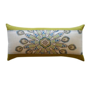 Jiti 'Real' Teal 12-inch x 23-inch Pillow