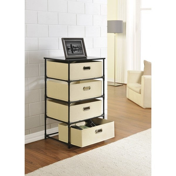 Altra 4-Bin Storage End Table