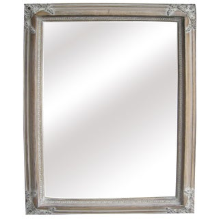 Antique Wood Traditional Rectangular 25-inch Wall Mirror