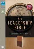 NIV Leadership Bible: Leading by the Book, Caramel/Dark Caramel Italian Duo-Tone (Paperback)