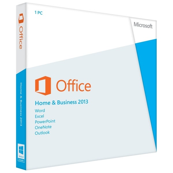 Microsoft Office 2013 Home and Business 32/64-bit - 1 Machine