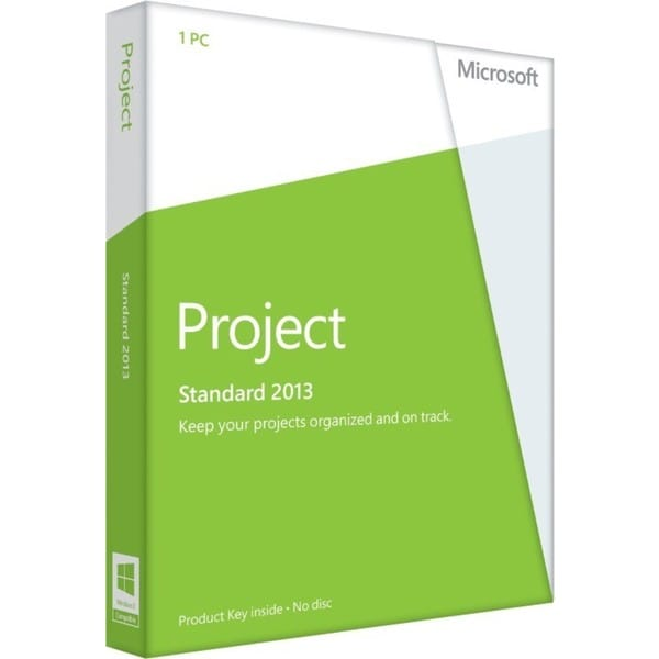 Microsoft Project 2013 Standard 32/64-bit - License - 1 PC