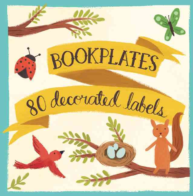 Forest Friends Bookplate Book of Labels (Cards)