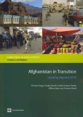 Afghanistan in Transition: Looking Beyond 2014 (Paperback)