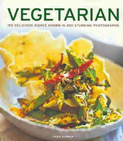 Vegetarian: 150 Delicious Dishes Shown in 200 Stunning Photographs (Paperback)