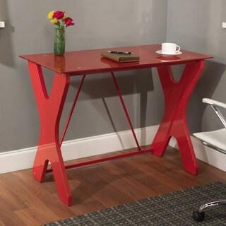 Simple Living Gavin Red Computer Desk