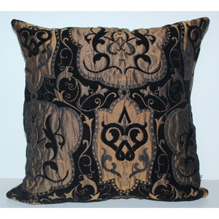 Lancelote Chrome 17 x 17-inch Decorative Pillow