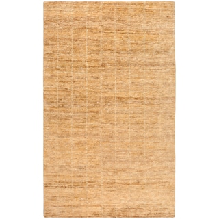 Handwoven Trinidad Tan Natural Fiber Hemp Rug (2' x 3')