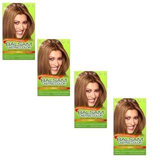 Clairol Balsam Lasting Color #70 Medium Ash Blonde (Pack of 4)