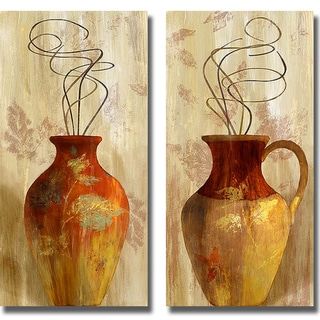 Lanie Loreth 'Fall Vessel I and II' 2-piece Canvas Art Set