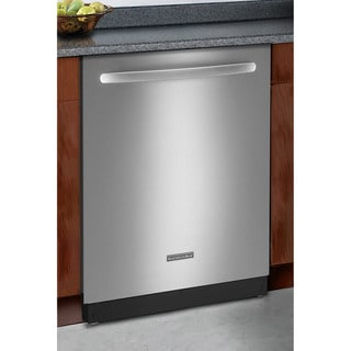 KitchenAid KUDC10FXSS Classic Series Stainless Steel Dishwasher