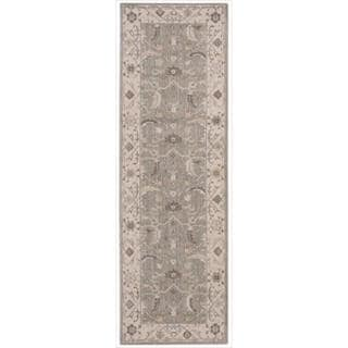 New Horizon Serapi Green Tea Runner Rug (2'6 x 12')