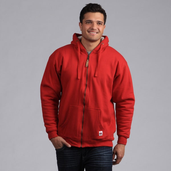 Farmall IH Men's Red Sherpa-lined Hoodie
