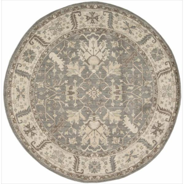 New Horizon Serapi Nickle Round Rug (6' x 6')