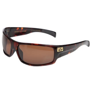 Bolle Men's 'Piranha' Dark Tortoise Sport Frame Polarized Sunglasses