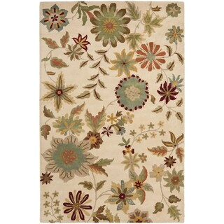 Safavieh Handmade Soho Ivory New Zealand Wool Rug