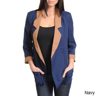Stanzino Women's Two-tone Casual Blazer