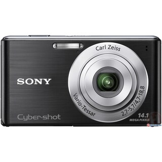 Sony Cyber-shot DSC-W530 14.1MP Black Digital Camera