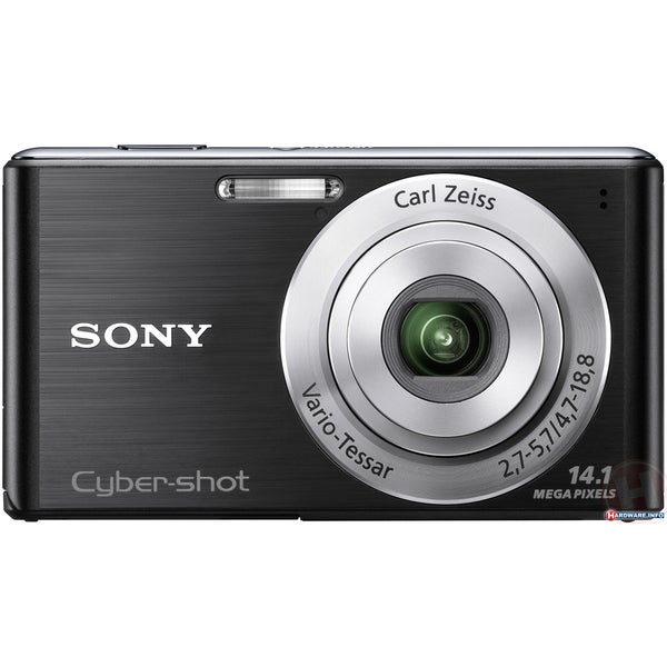 Sony Cyber-shot DSC-W530 14.1MP Black Digital Camera