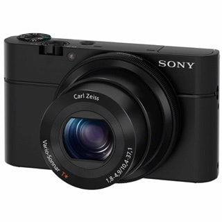 Sony Cyber-shot DSCRX100 20.2MP Black Digital Camera