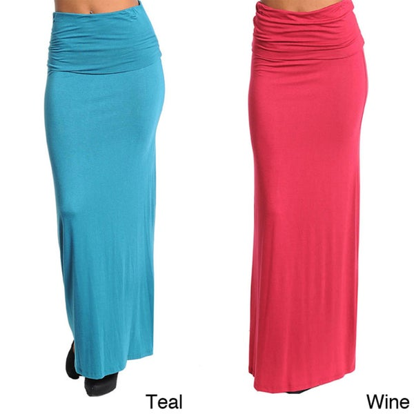 Stanzino Women's Stretchy Long Skirt