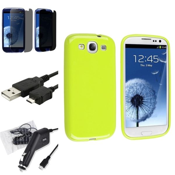 BasAcc Case/ Screen Protector/ Cable for Samsung© Galaxy S III/ S3