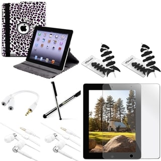 BasAcc Case/ Protector/ Splitter/ Headset/ Stylus for Apple iPad 3