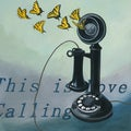 Lacey Shelton 'This Is Love Calling' Art Print