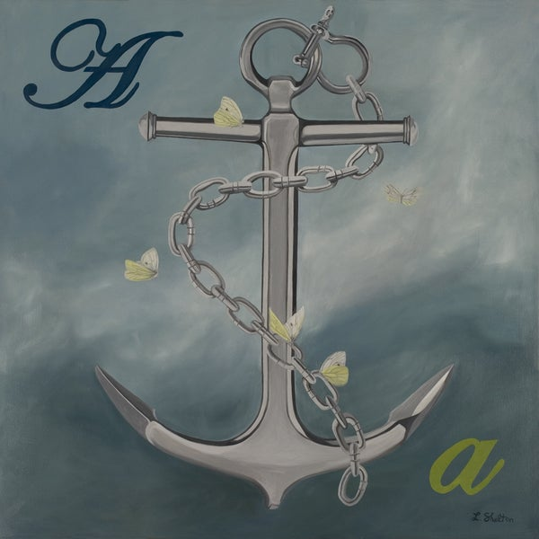 Lacey Shelton 'You're My Anchor' Art Print
