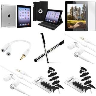 BasAcc BasAcc Case/ Protector/ Splitter/ Headset/ Wrap for Apple iPad 2/ 3/ 4