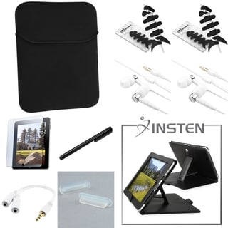 INSTEN Case/ Protector/ Splitter/ Headset/ Stylus for Apple iPad 1