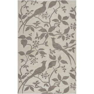 Hand-tufted Vaughan Ivory Rug (2' x 3')